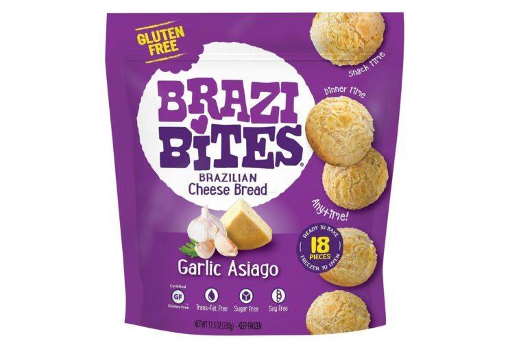 Brazi Bites Garlic Asiago Frozen Brazilian Bread - 11.5oz