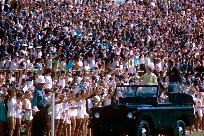BRITISH ROYALTY ON TOUR OF AUSTRALIA AND NEW ZEALAND - 1970