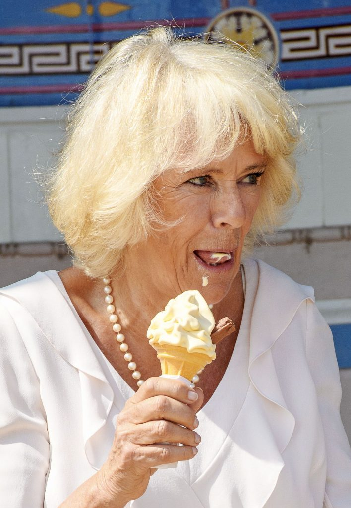 Camilla Duchess of Cornwall visit to the Isle of Wight, UK - 24 Jul 2018