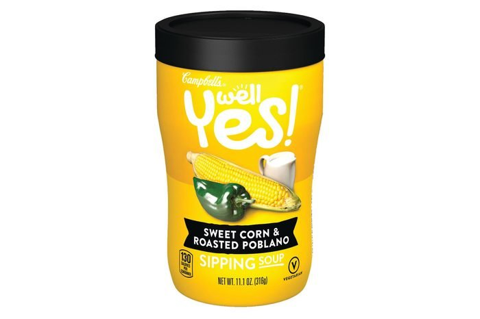 Campbell's Well Yes! Sweet Corn & Roasted Poblano Sipping Soup - 11.2oz