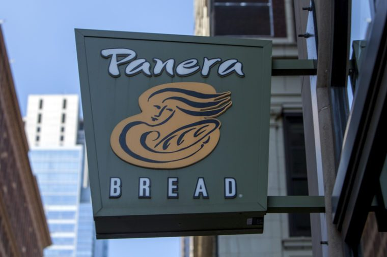 CHICAGO - June 1, 2017: Panera Bread restaurant exterior sign. Panera Bread is a chain of bakery-cafe fast casual restaurants in the United States and Canada.