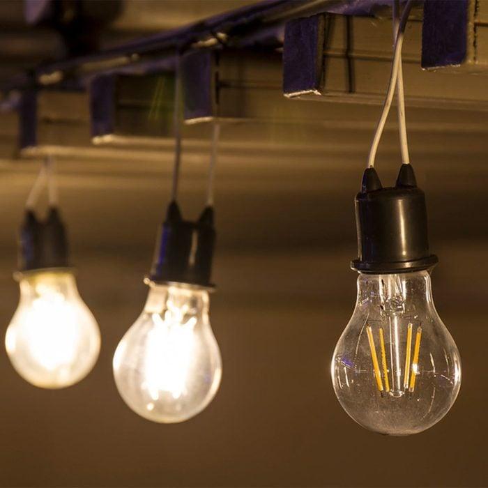 Dead Edison bulb