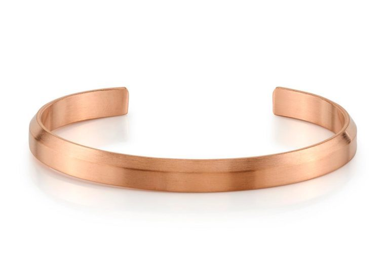 rose gold tone cuff in stainless steel - engravable