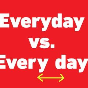 everyday vs every day
