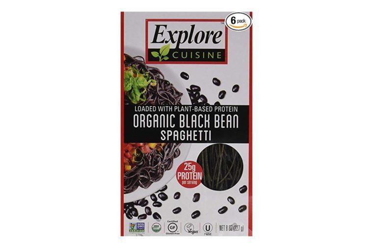 Explore Cuisine Organic Black Bean Spaghetti Pasta 8oz - Pack of 6