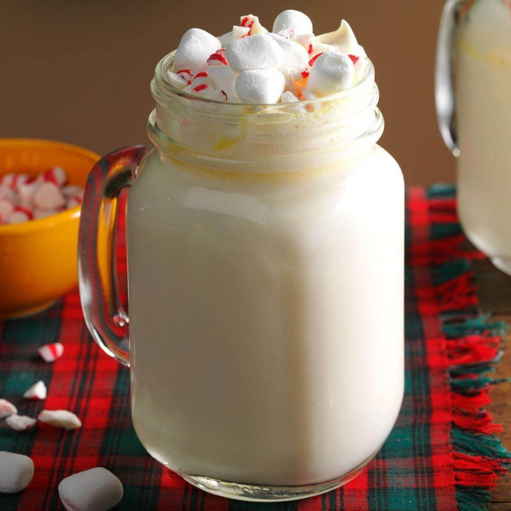 Pisces: Peppermint White Hot Chocolate