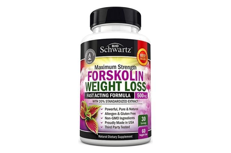 Forskolin Extract for Weight Loss. Pure Forskolin Diet Pills & Belly Buster Supplement. Premium Appetite Suppressant, Metabolism Booster, Carb Blocker & Fat Burner for Women and Men Coleus...