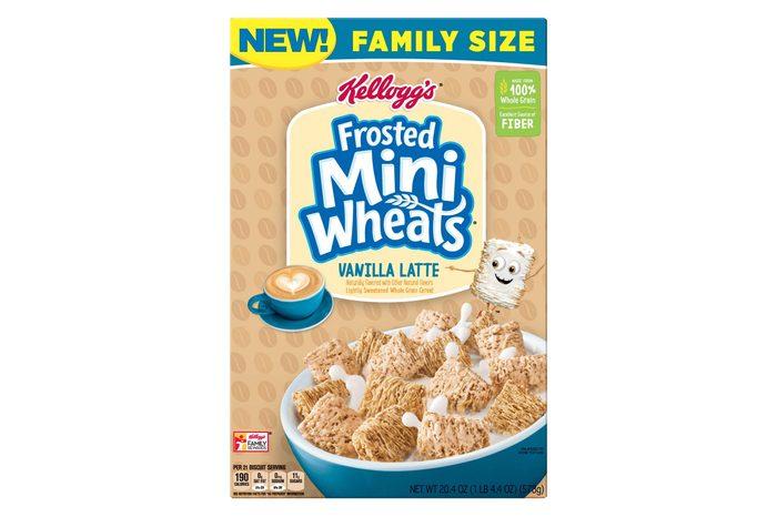 Frosted Mini-Wheats Vanilla Latte Breakfast Cereal - 20.4oz - Kellogg's