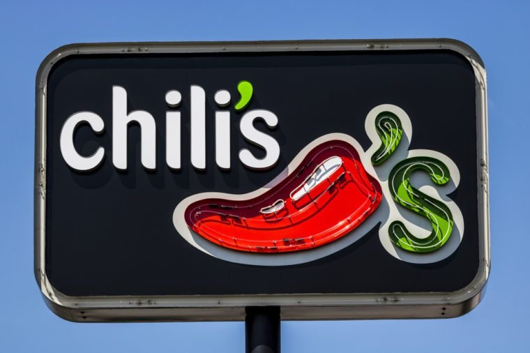 Ft. Wayne - Circa August 2017: Chili's Grill & Bar Casual Dining Restaurant. Chili's is known for its Baby Back Ribs VI