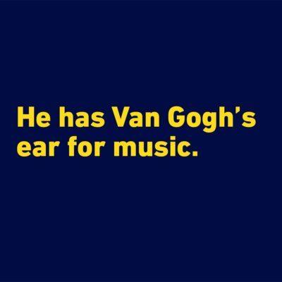 Van gogh funny quote