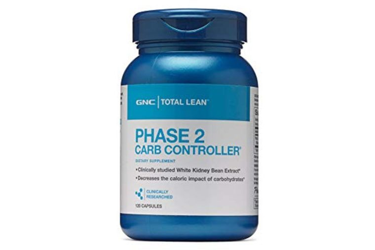 GNC Total Lean Phase 2 Carb Controller - 120 Capsules
