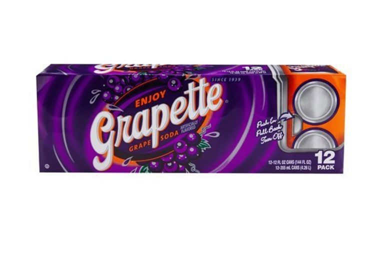 Grapette Grape Soda - 12 oz cans - 12pk