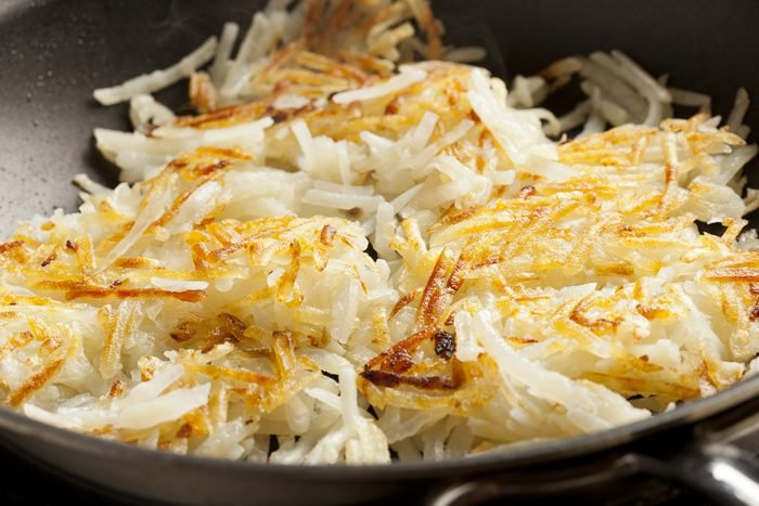 Fresh Homemade Hash Browns to eat for breakfast