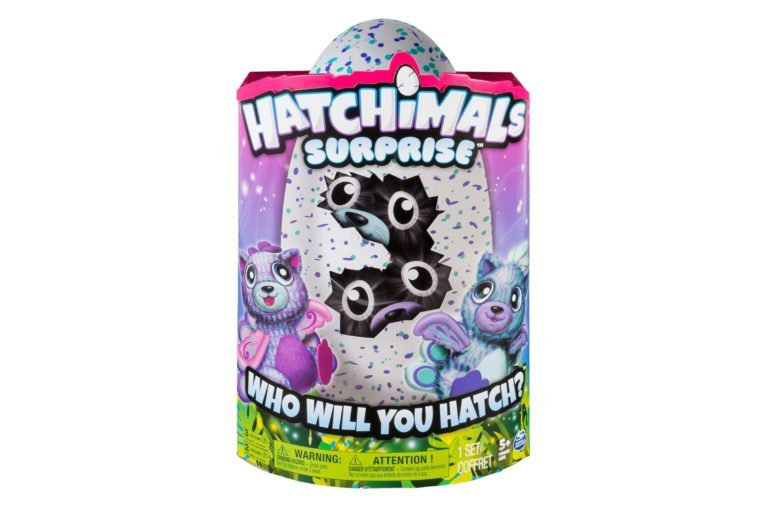 Hatchimals Surprise Peacat Hatching Egg w/Surprise Twin by Spin Master - Purple