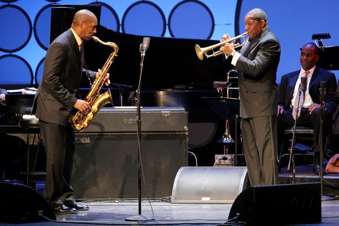 JAZZ AT THE LINCOLN CENTER 'TEACH ME TONIGHT' BENEFIT GALA AT THE APOLLO THEATRE, HARLEM, NEW YORK, AMERICA - 07 JUN 2004