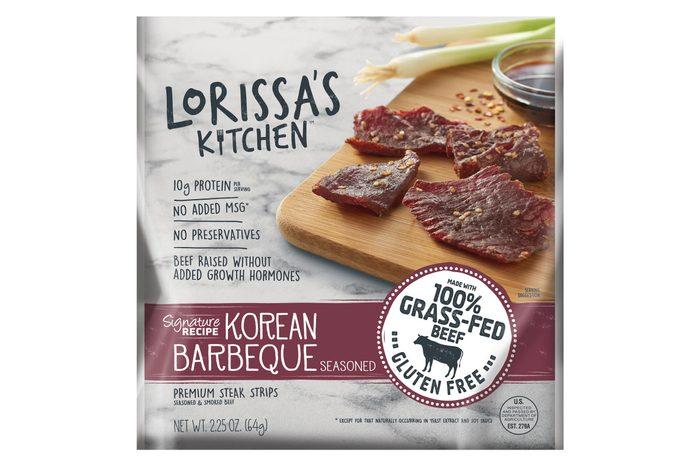 Lorissa's Kitchen Korean Barbeque Beef Jerky - 2.25oz