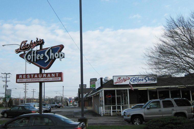Lucky's Coffee Shop, Wilmington