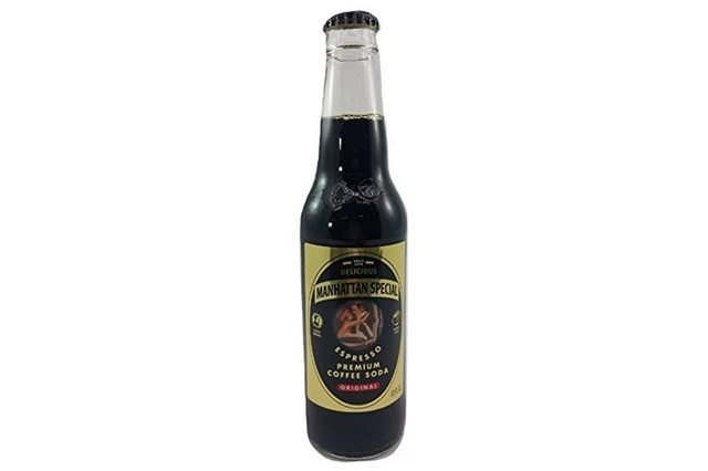 Manhattan Special ESPRESSO SODA FROM BROOKLYN Passaro's Famous, 12-Ounce Glass Bottle (Pack of 12)