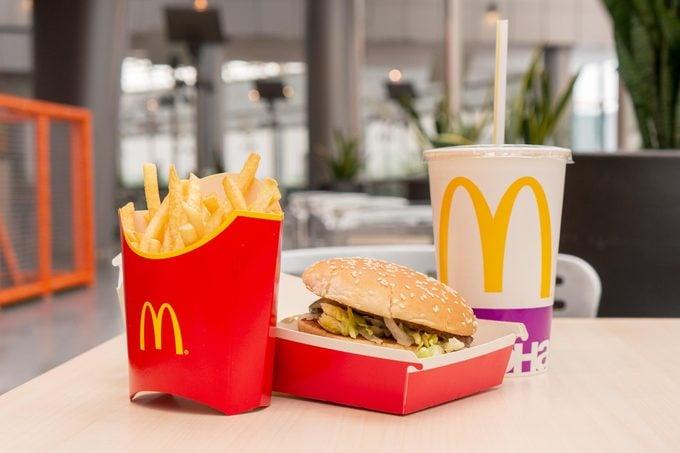 The Real Reason McDonald's Got Rid of the Supersized Menu