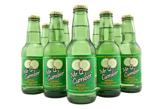 Mr. Q. Cumber Cucumber Soda - 7 oz - 12 pack