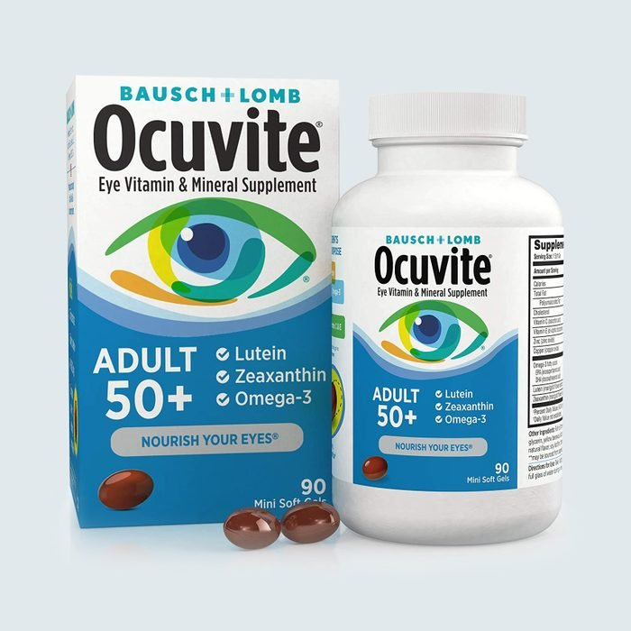 Bausch + Lomb Ocuvite Vitamin & Mineral Supplements