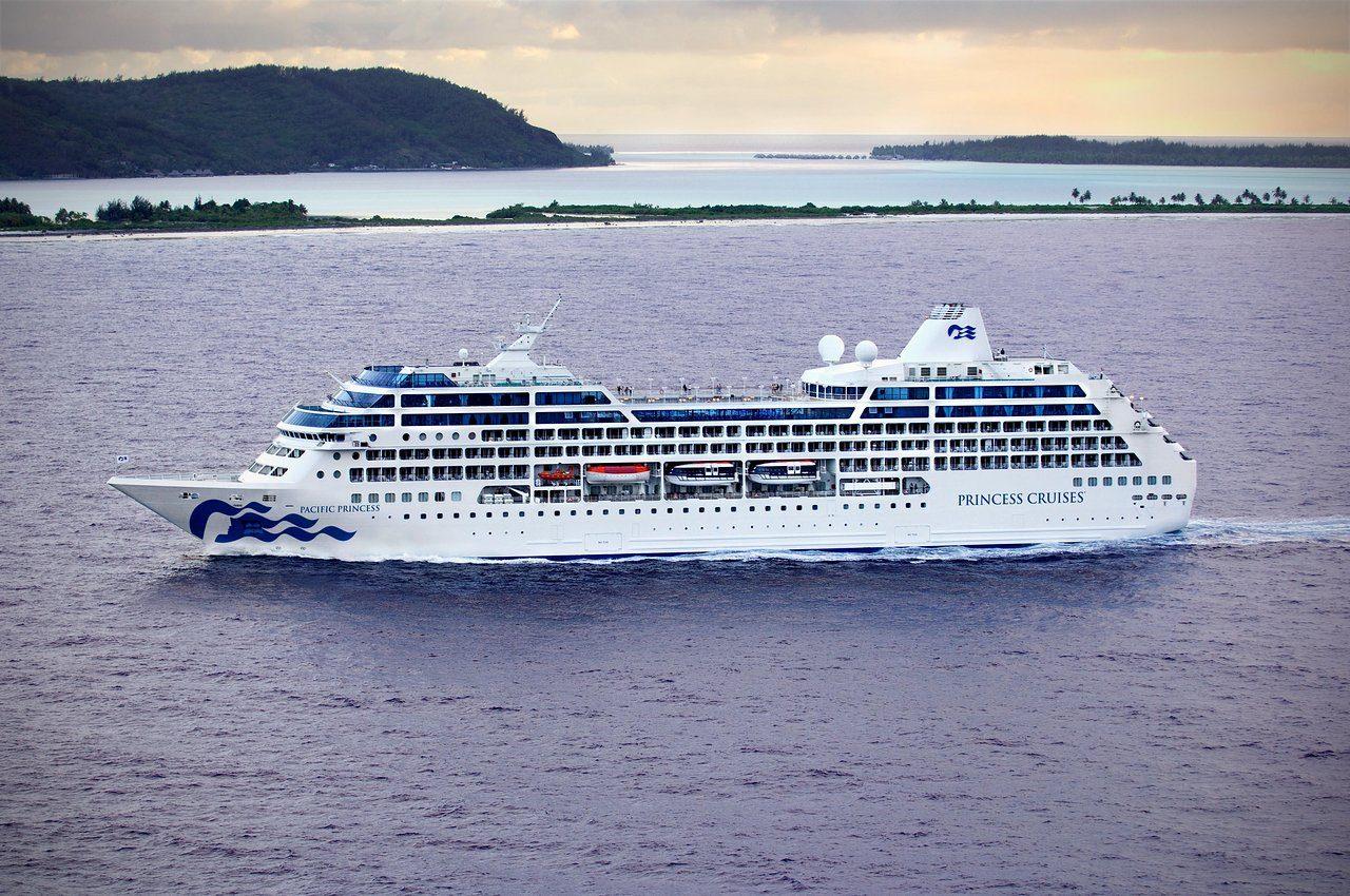 pacific princess cruise