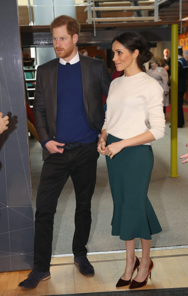Prince Harry and Meghan Markle visit to Belfast, Northern Ireland, UK - 23 Mar 2018