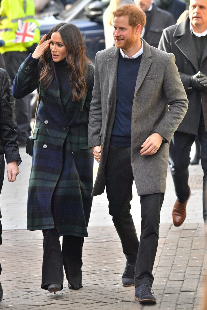 Prince Harry and Meghan Markle visit to Edinburgh, Scotland - 13 Feb 2018