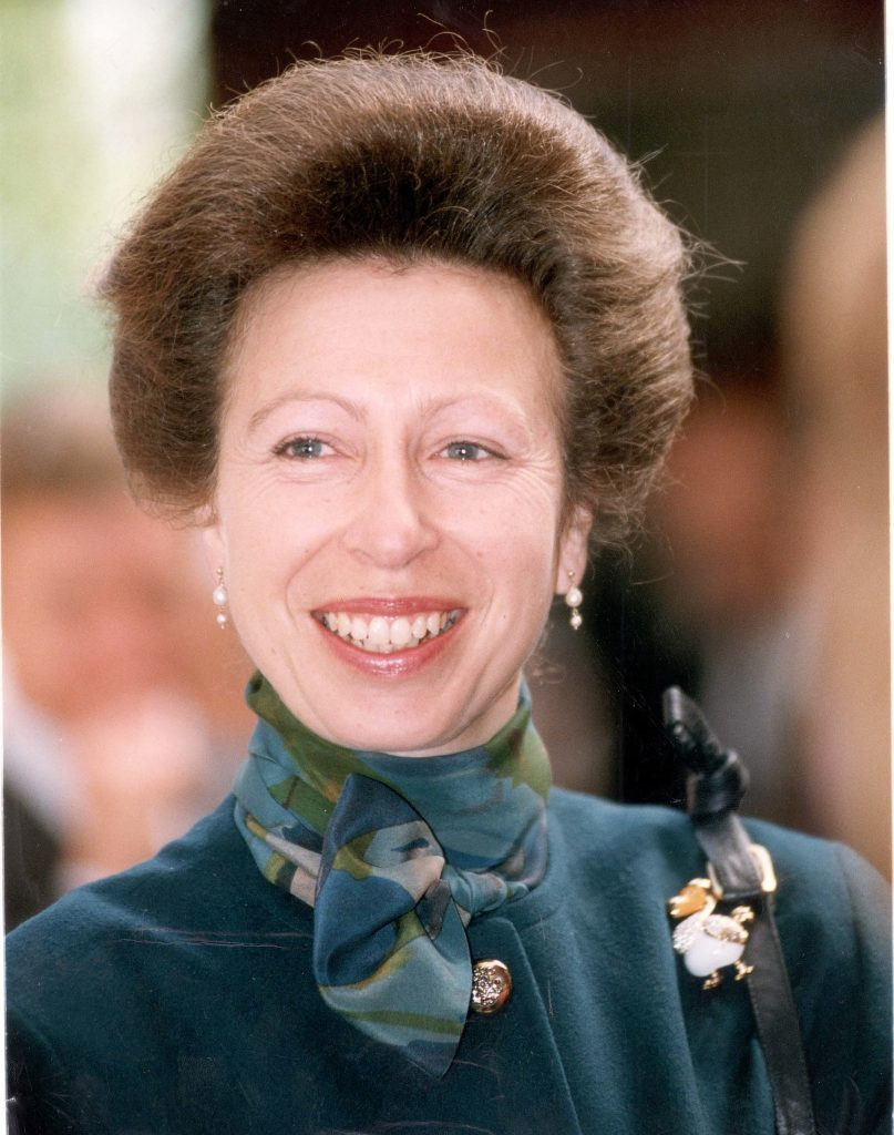 Princess Royal - May 1992 Hrh Princess Anne In Jersey Today....royalty