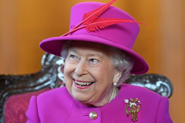 Queen Elizabeth II visit to The Honourable Society of Lincoln's Inn, London, UK - 13 Dec 2018