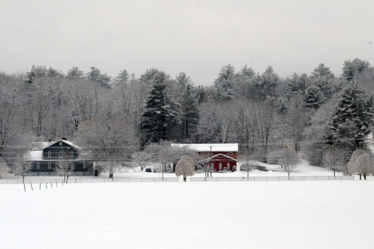 Winter in New England, Hanover, New Hampshire