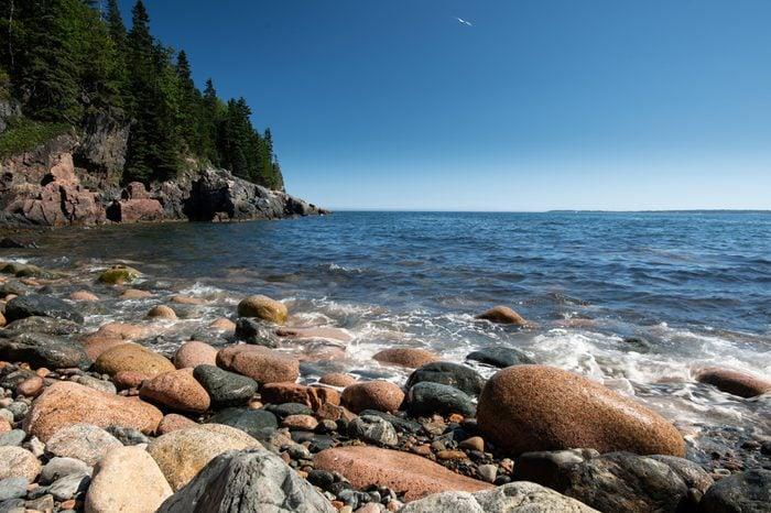 Rocky beach, Bar Harbor, Maine