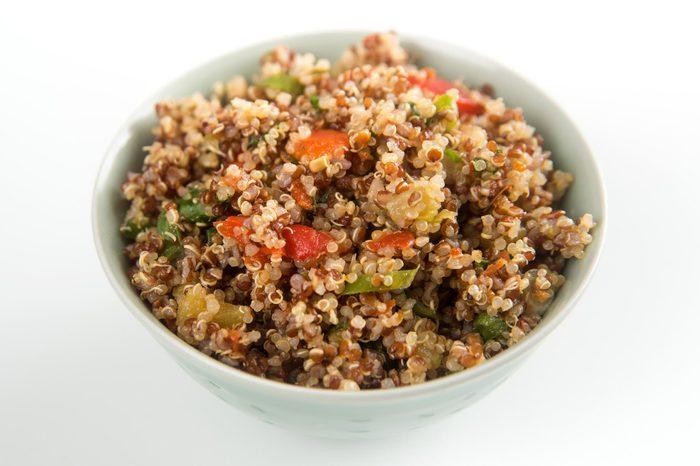 Freshly Made Quinoa Tabouli