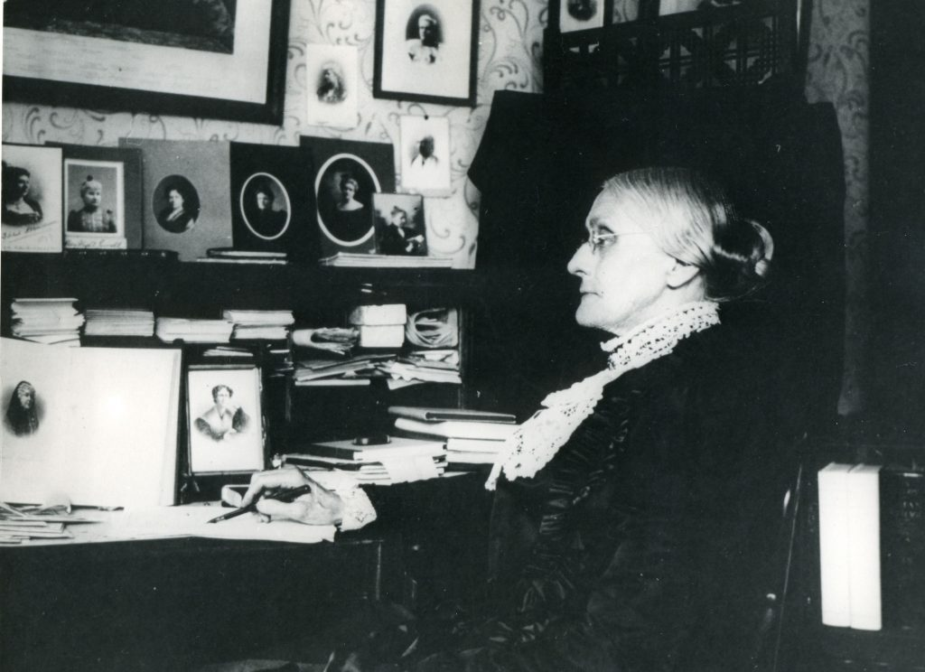 Various Susan B. Anthony, 1820-1906. American Woman Suffrage Advocate. Organizer Of National Woman Suffrage Association. Lecturer And Composer