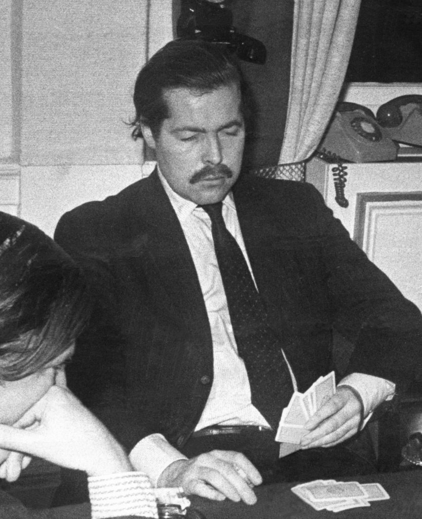 Lord Lucan In A West End Club Richard John Bingham 7th Earl Of Lucan (born 18 December 1934) Popularly Known As Lord Lucan A British Peer And Suspected Murderer Disappeared Without Trace Early On 8 November 1974.