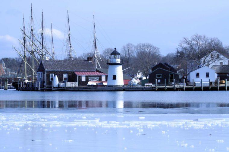 Mystic Seaport in Winter