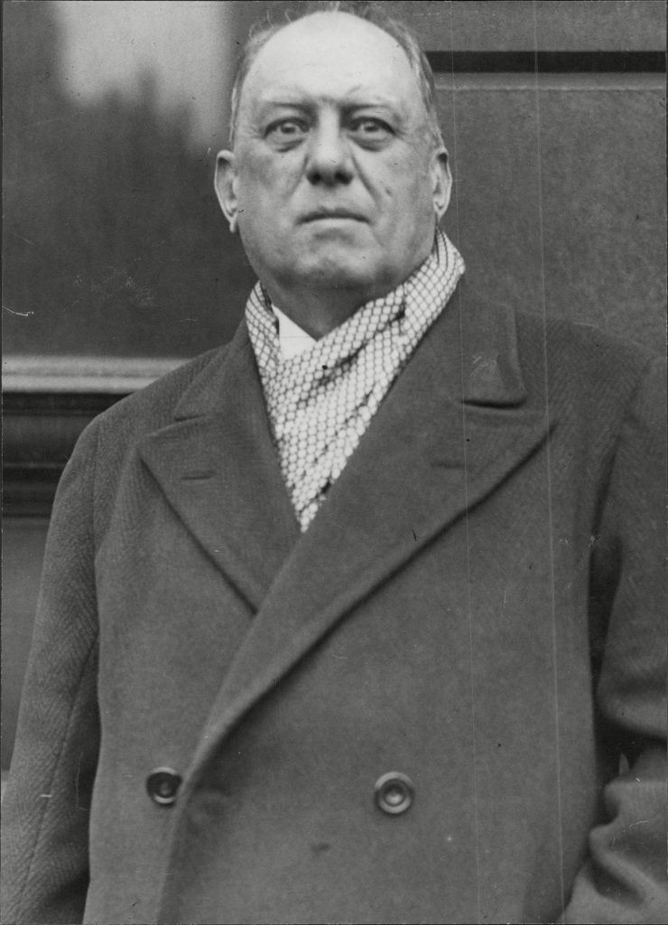 Aleister Crowley ( 12 October 1875 Oo 1 December 1947) Born Edward Alexander Crowley Was An English Occultist Ceremonial Magician Poet And Mountaineer Who Was Responsible For Founding The Religion Of Thelema. In His Role As The Founder Of The Thelemi