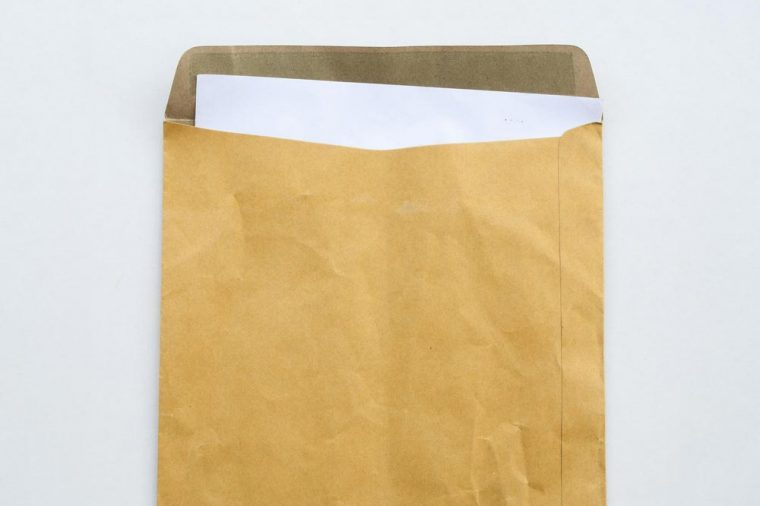 big envelope for letter confidential papers