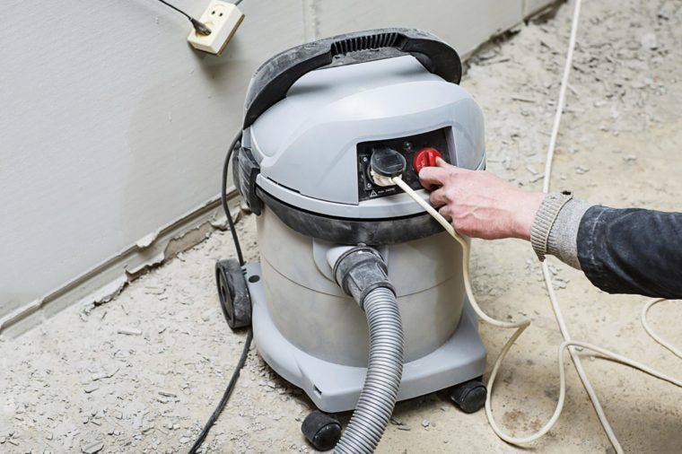 Vacuum cleaner for cleaning large. High power Machine for industry, floor buffing machine,
