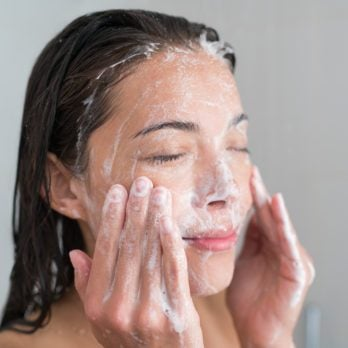 Why You Probably Shouldn't Wash Your Face in the Shower