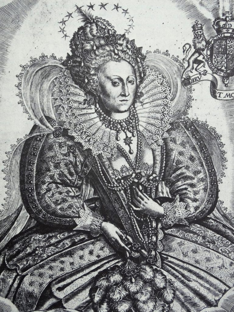 VARIOUS Illustration of Queen Elizabeth I (1533-1603) Queen of England and Ireland. Dated 16th Century