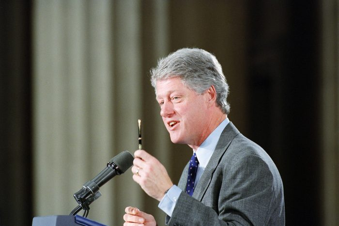U.S. President Bill Clinton, Washington, USA