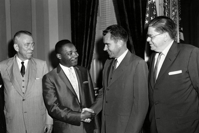 KING IN WASHINGTON 1957, WASHINGTON, USA