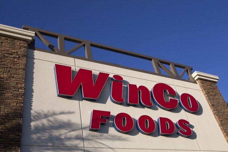 PHOENIX, ARIZONA, JUNE 11, 2017: WINCO FOODS