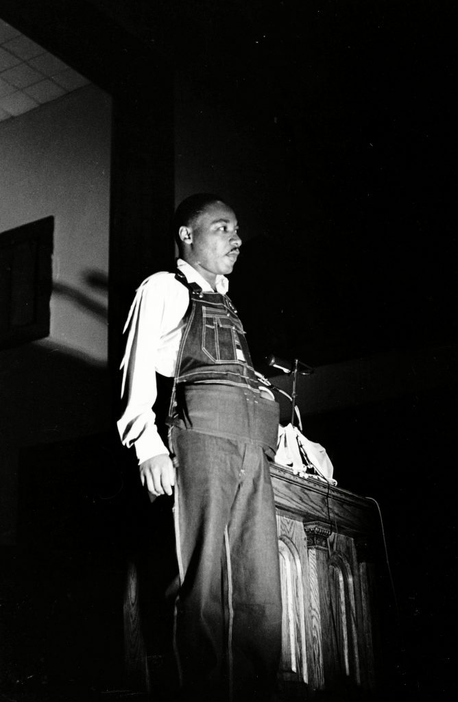 MARTIN LUTHER KING OVERALLS, BIRMINGHAM, USA