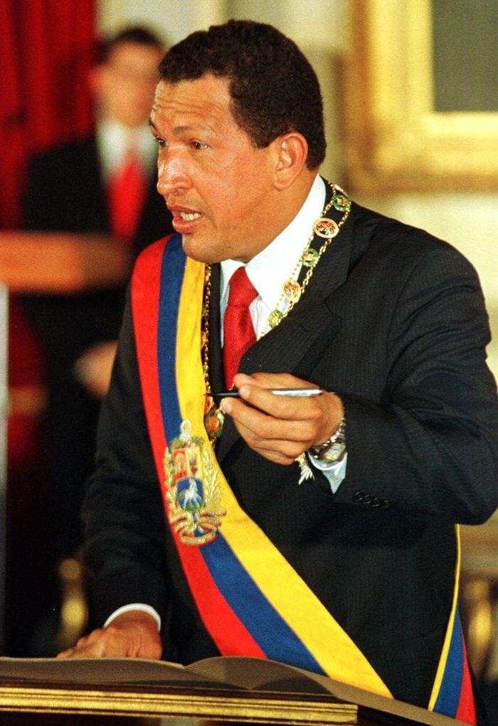 VENEZUELA CHAVEZ CONSTITUTION, CARACAS, Venezuela