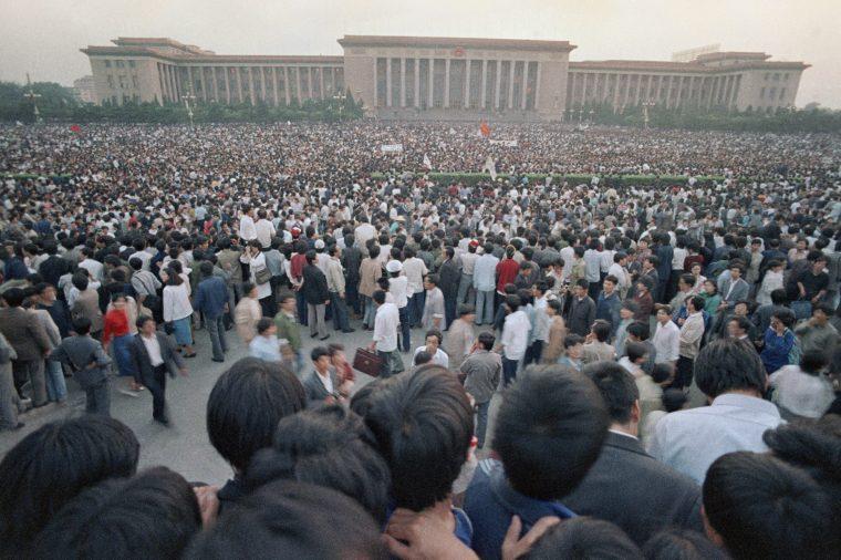 1989 Chinese Student Demonstrations, Beijing, China