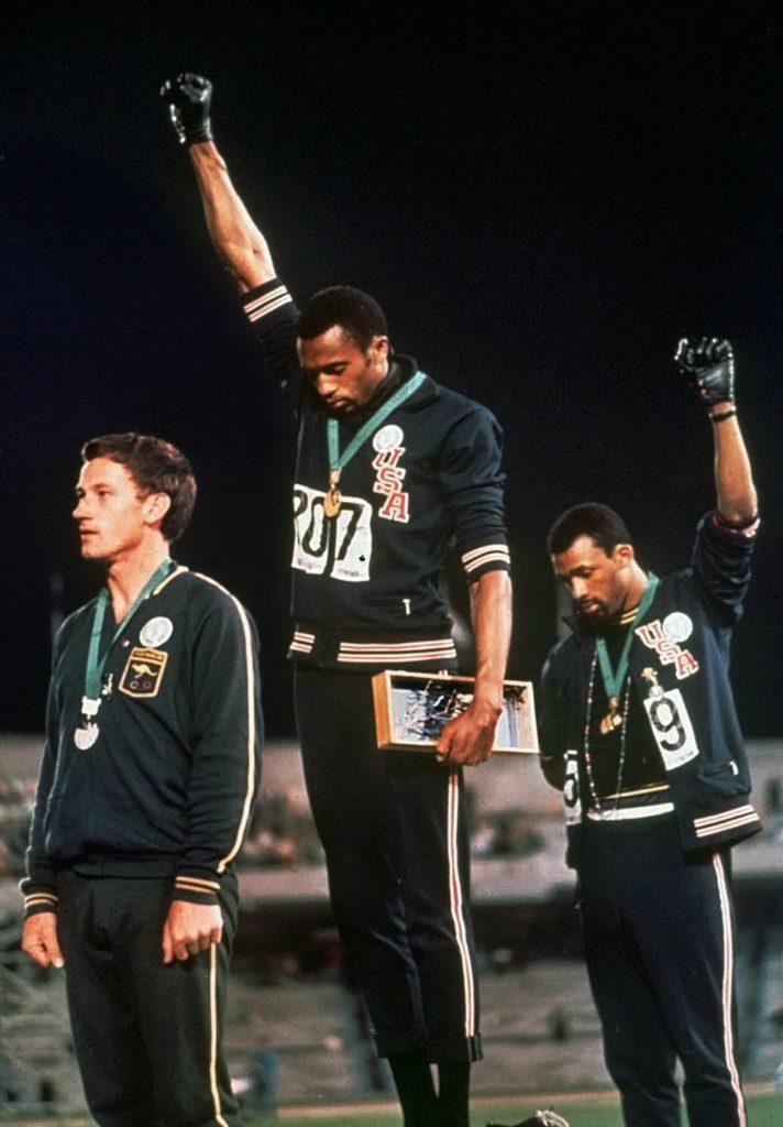 Black Power Salute 1968, MEXICO CITY, Mexico