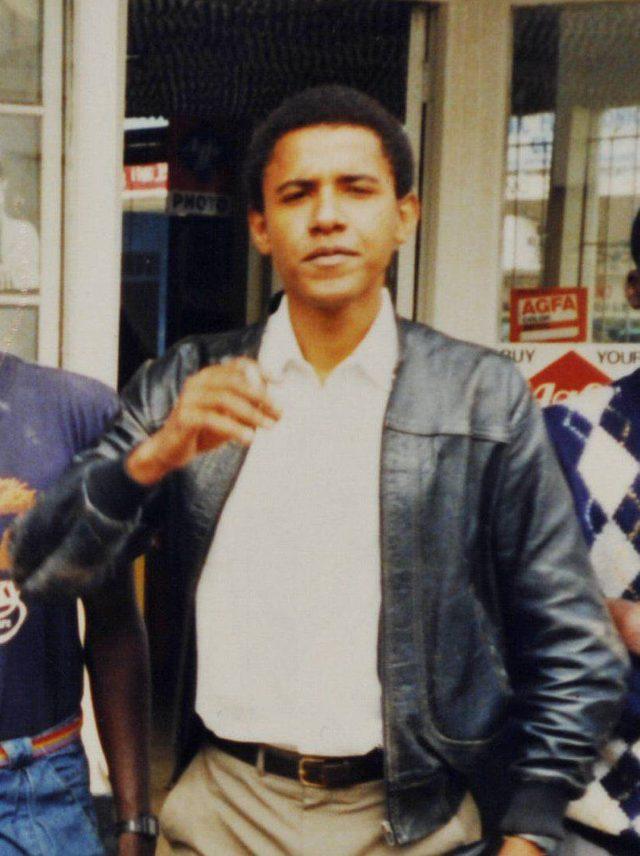 Various Barack Obama family images