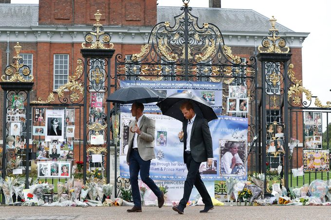 Britain Princess Diana, London, United Kingdom - 30 Aug 2017
